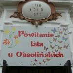Powitanie lata u Ossolińskich