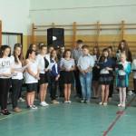 Druga rocznica kanonizacji Patrona naszej szkoły Jana Pawła II