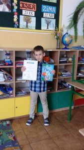III miejsce w Powiatowym Konkursie Ortograficznym