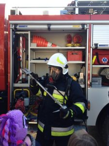 Wizyta w Straży Pożarnej w Rudce